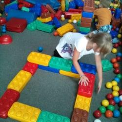 bauen mit einer Art Legosteine....nur…
