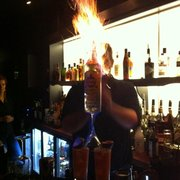 Flaming Cocktails: The Monkey Punch!