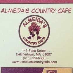 Almeida S Country Cafe Belchertown Ma