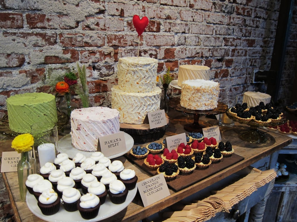 Cake And Art Yelp : Vintage/Homemade style Wedding cake and Sweet table. Yelp
