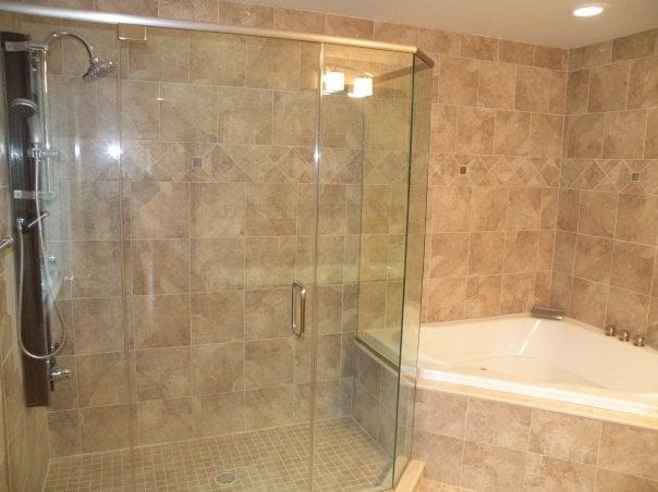 Wonderful Bathroom Tile From Floor To Ceiling  Bathroom Designs