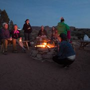 Moab Under Canvas - communal fire pit - Moab, UT, Vereinigte Staaten