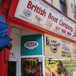 British Boot, London