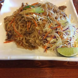 Panang2 Thai Restaurant - Oklahoma City, OK, États-Unis. Beef pad thai