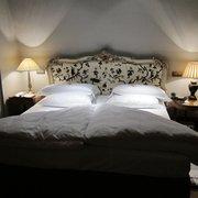 Schlafzimmer in der Junior Suite