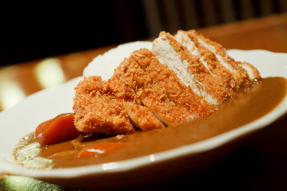Japanese Curry Rice Lunch