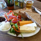 Ploughman's Lunch - very filing, fresh and delicious