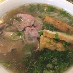 Beef mit Tofu und Gemüse Suppe scharf!