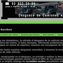 Desguace de camiones Barcelona, Barcelona