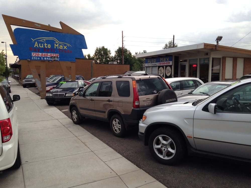 Auto Max Car Dealers Southwest Denver Co United