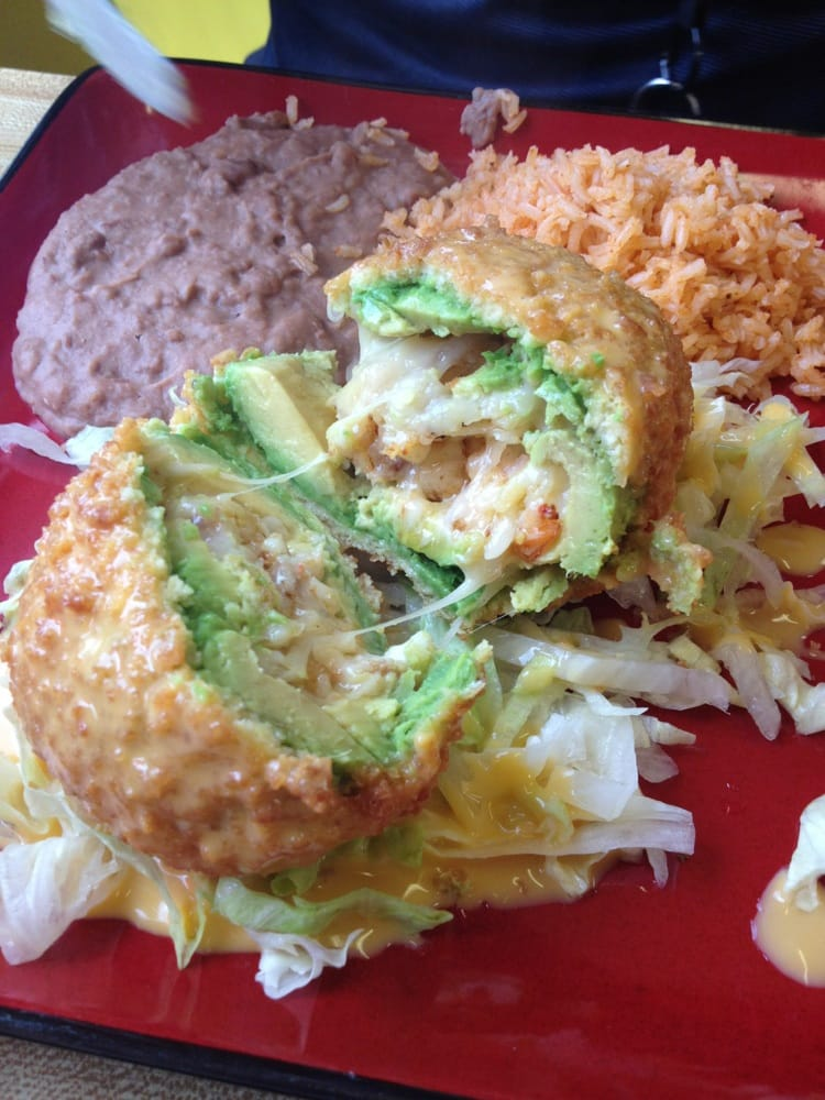how to make fried stuffed avocado