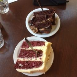 Red velvet cake and turtlecake ;-D