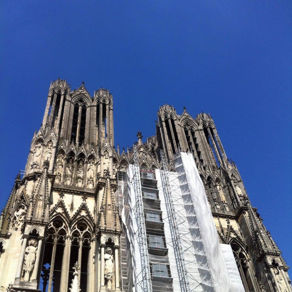 Cathedrale Reims Detruite Cathédrale Notre Dame de Reims