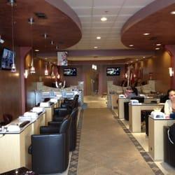 Villa nail salon spa nail salons yelp for A class act salon