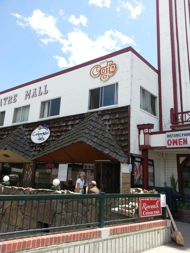 Park Theatre Cafe Estes Park