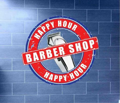 Barber Shop Kendall : Happy Hour Barber Shop - Happy Hour Barber Shop Logo - Miami, FL ...