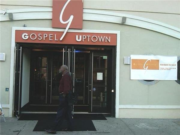 Gospel uptown closed soul food harlem new york ny for Harlem food bar yelp