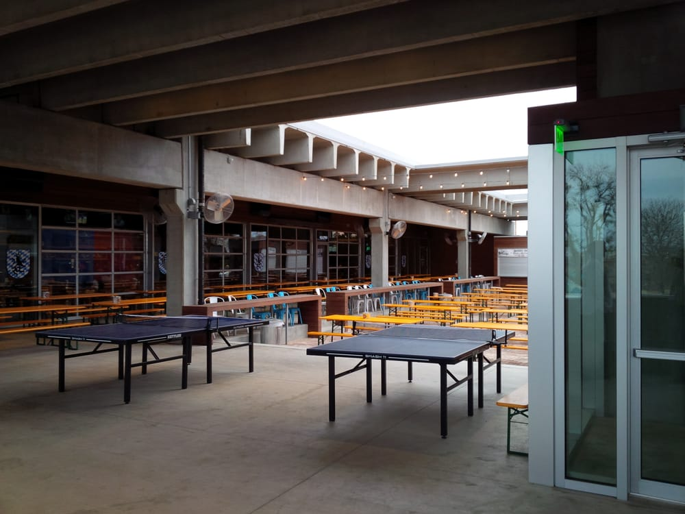 The Patio At Fassler Hall Well Part Of It I Couldn 39 T