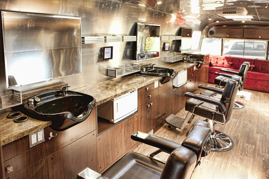 Sterlings mobile salon amp barber co 17 photos hair salons