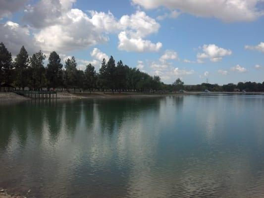 for Santa fe dam fishing