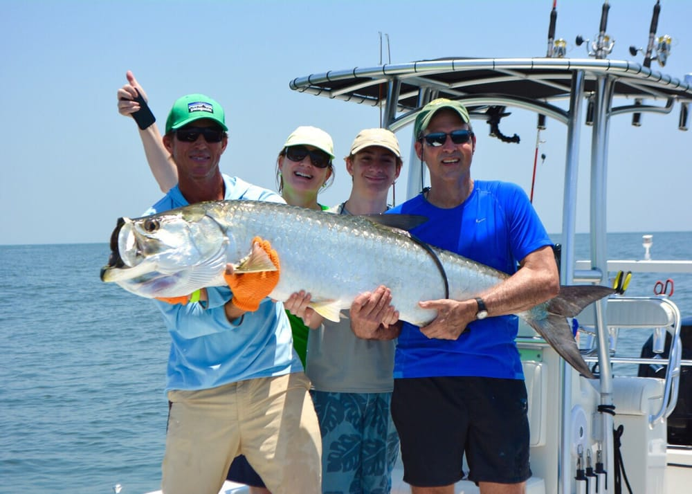 80 lb tarpon yelp for Off the hook fishing charters