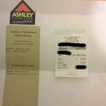 Ashley Furniture Homestore Milpitas Ca United States This Is How They Refund Payments That