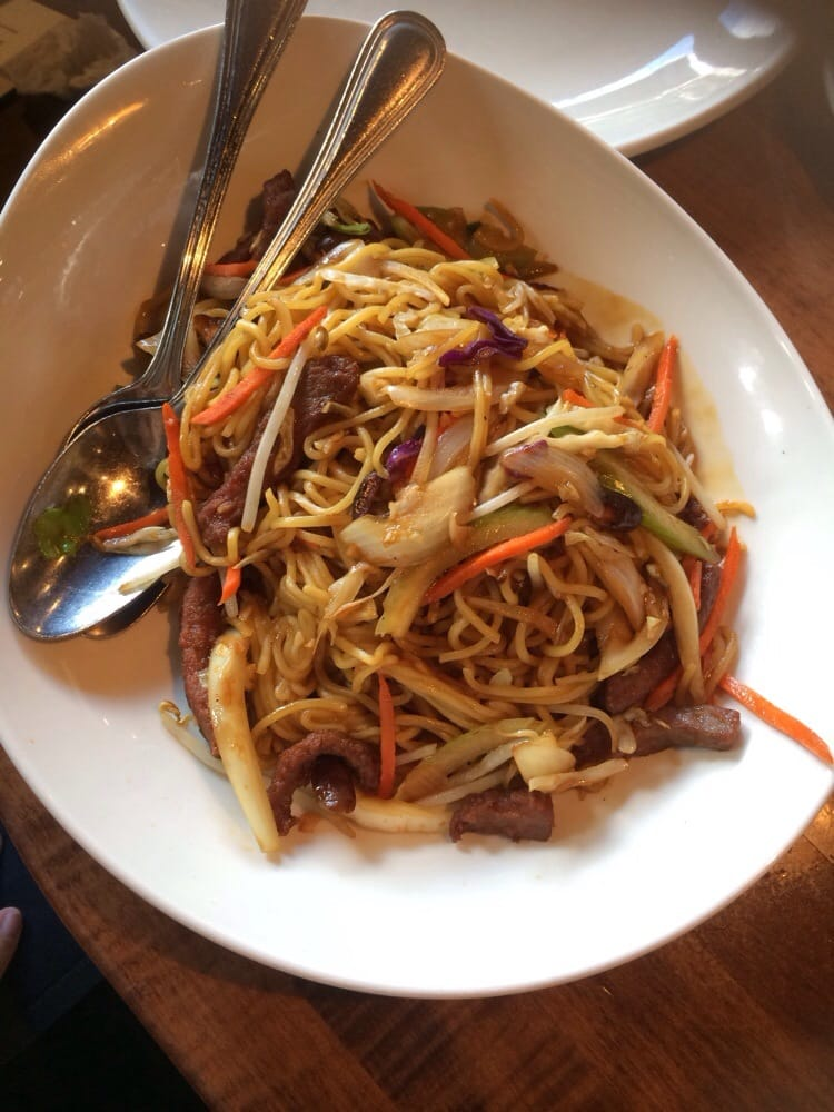 Beef lo Mein pf Changs Beef lo Mein p