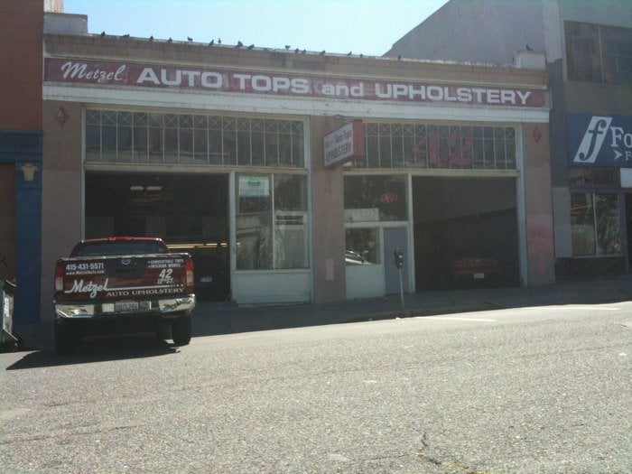 metzel auto upholstery auto repair san francisco ca yelp. Black Bedroom Furniture Sets. Home Design Ideas