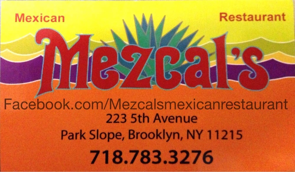 Mezcals mexican restaurants business card yelp for Mexican restaurant business cards