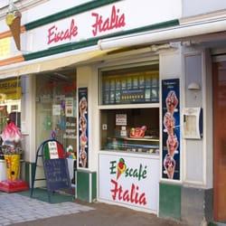 Eiscafe Italia M.Piai, Flensburg, Schleswig-Holstein