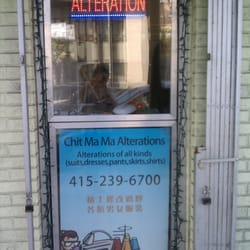 Chit Ma Ma Alterations Mission Terrace San Francisco
