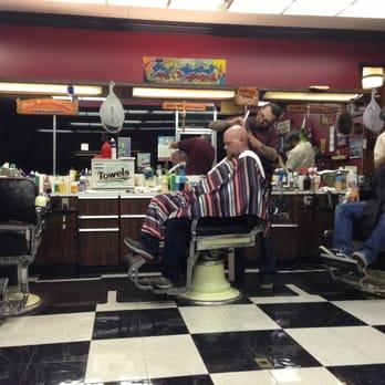 Barber Shop Las Vegas : Hi-Rollers Barber Shop - Las Vegas, NV, United States. Shop in action!