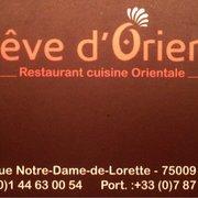 Rêve d'Orient, Paris