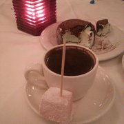 Greek  coffee which is turkish coffee…
