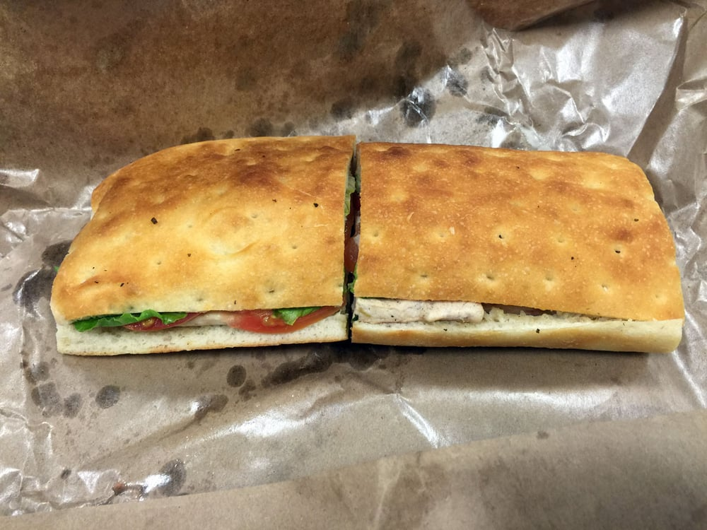Viga Italian Eatery and Caterer - Boston, MA, United States. Milano Chicken Breast Sandwich