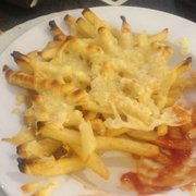 French Fries mit Käse überbacken
