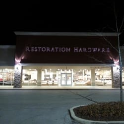 Restoration hardware outlet shopping pleasant prairie for Restoration hardware online shopping