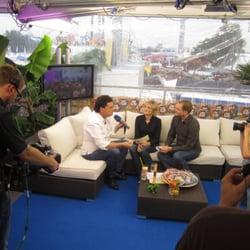 Kirmes-Live-Studio centerTV, Düsseldorf, Nordrhein-Westfalen