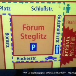 Vinh Loi Steglitz,Lageplan