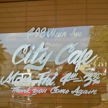 City Cafe Menu Northport Al