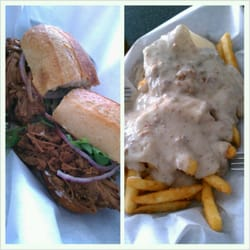 ... Uniti. spicy beef and bacon gravy fries....and, 4 beers...$42 total