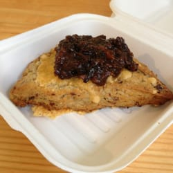 Bacon Bacon - Scone with honey bacon jam - San Francisco, CA, Vereinigte Staaten