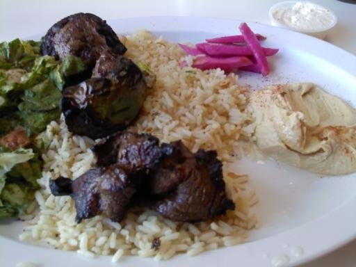 My food very skimpy but good yelp for Alina s lebanese cuisine