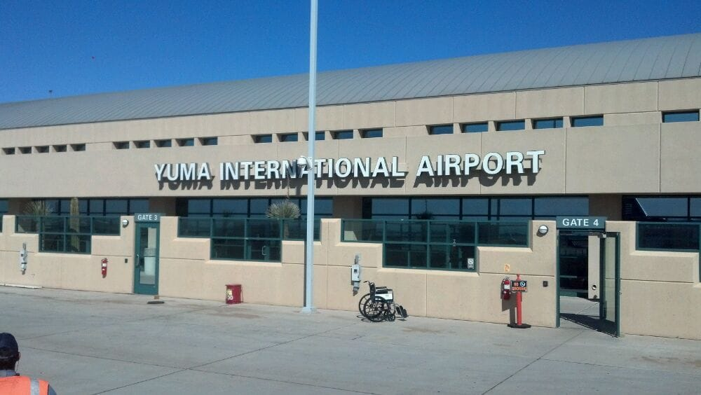 Yuma (AZ) United States  city pictures gallery : Yuma International Airport YUM Yuma, AZ, United States