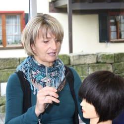 Topstylistin Frau Lang auf dem Seminar…