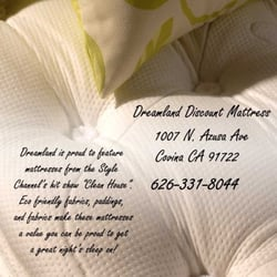 Dreamland Discount Mattress - Covina, CA, United States. Eco-Friendly Pillow Tops! Compare at $3299 Dream Value Queen Set Only $1299!