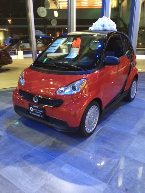 Smart car looking luxurious in this showroom yelp for Mercedes benz of seattle
