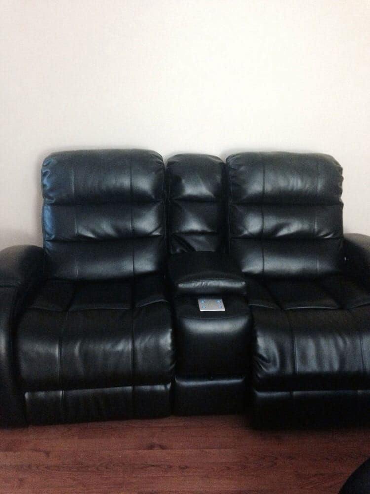 Love seat with the console