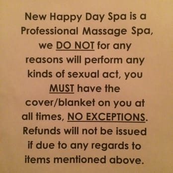 happy ending massage no big deal Ontario, California