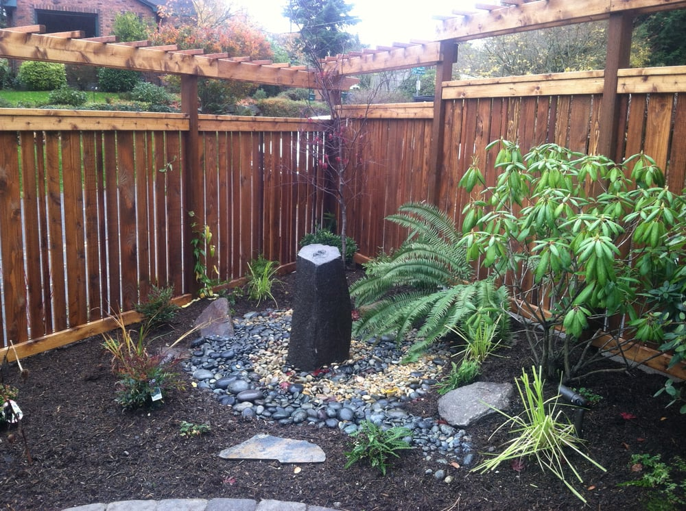 Bubbling Basalt Column In The Corner Of A Newly